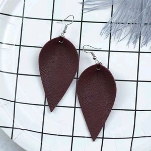 Jewelry - Restocked! 3 for $15 Leather Earrings